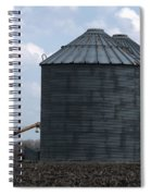 Silos And Augers Spiral Notebook