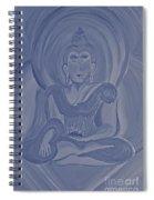Silver Buddha Spiral Notebook