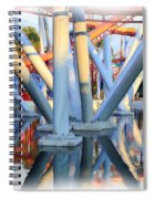 Silver Bullet Over Reflection Lake Spiral Notebook