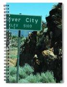 Silver City Nevada Spiral Notebook