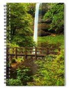 Silver Falls Bridge Spiral Notebook