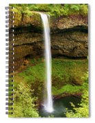 Silver Falls South Falls Spiral Notebook