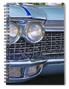 Silver Lines And Designs Spiral Notebook