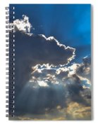 Silver Lining Spiral Notebook