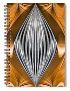Silver Marquise Engagement Spiral Notebook