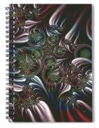Silver Seedpods Spiral Notebook
