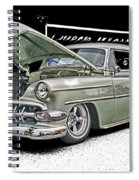 Silver Street Rod Hdr Spiral Notebook