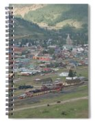 Silverton Colorado Painterly Spiral Notebook