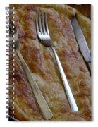 Silverware Tart Spiral Notebook