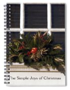 Simple Joys Spiral Notebook