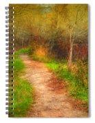 Simple Pathways Spiral Notebook