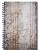 Simple Things Abstract Spiral Notebook