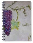 Simply Grape Spiral Notebook