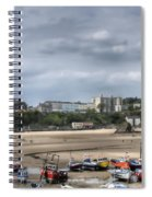 Simply North Beach From Tenby Harbour Spiral Notebook