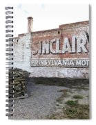 Sinclair Motor Oil Spiral Notebook