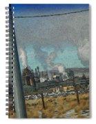 Sinclair Refinery Spiral Notebook