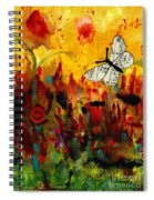 Singing Butterfly Spiral Notebook