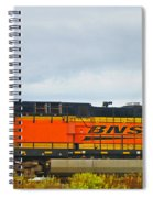 Single Bnsf Engine Spiral Notebook