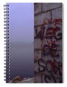 Eerie Morning Spiral Notebook