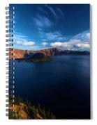 Sinott Crater Lake View Spiral Notebook