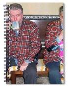 Sip And Dip Spiral Notebook