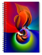 Siphonophoric Colony Spiral Notebook