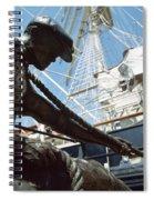 Sir John Rogersons Quay, Dublin Spiral Notebook