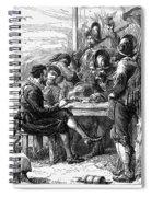 Sir Walter Raleigh Spiral Notebook