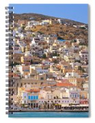 Siros Greece 2  Spiral Notebook