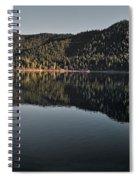 Siskiyou Lake Panorama Spiral Notebook