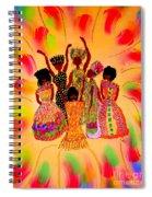 Sisterhood In Full Effect Spiral Notebook
