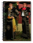 Sisters - In Full Regalia Spiral Notebook