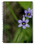 Sisters Of The Purple Plants Spiral Notebook