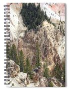 Sit For A Spell At Grand Canyon In Yellowstone Spiral Notebook
