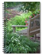 Sit For A Spell Spiral Notebook