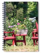 Sit For Awhile Spiral Notebook