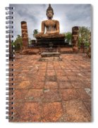 Sitting Buddha Spiral Notebook