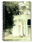 Sixty One Ghosts Live Here Spiral Notebook