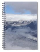 Skaftafell Panorama Spiral Notebook