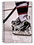 Skate Reflection Spiral Notebook