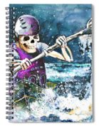 Skelet Oar Spiral Notebook