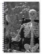 Skeleton In My Closet Spiral Notebook