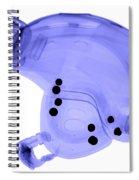 Ski Helmet Spiral Notebook