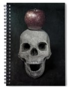 Skull And Apple Spiral Notebook