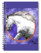 Sky Andalusian Spiral Notebook