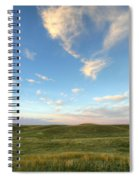 Sky At Sunset, Grasslands National Spiral Notebook