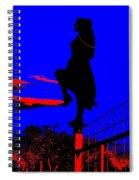 Sky Dancer Spiral Notebook