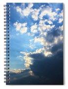 Sky Drama Spiral Notebook