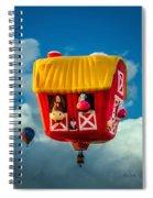 Sky Farming  Spiral Notebook