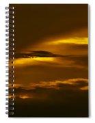 Sky Of Golden Fleece Spiral Notebook
